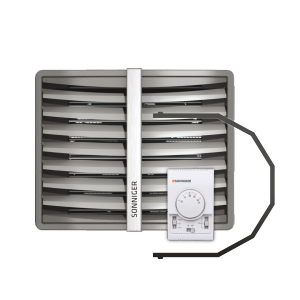 Sonniger Heater Condens CR ONE nagrzewnica wodna 25 kW zestaw