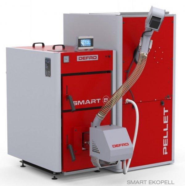 Defro Smart Ekopell 16 kw Kocioł z podajnikiem 5 klasy