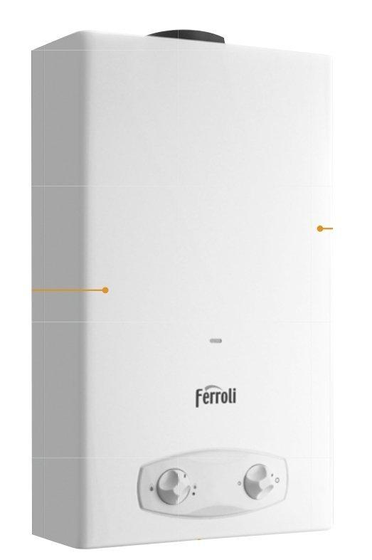 Ferroli Zefiro C11 Pro gazowy podgrzewacz wody propan-butan