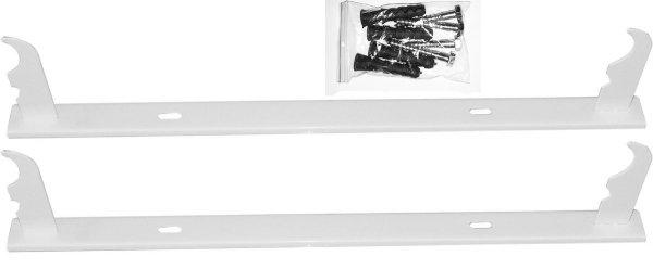 Uchwyt grzejnika Aluminiowego Wieszak listwowy H500 - komplet