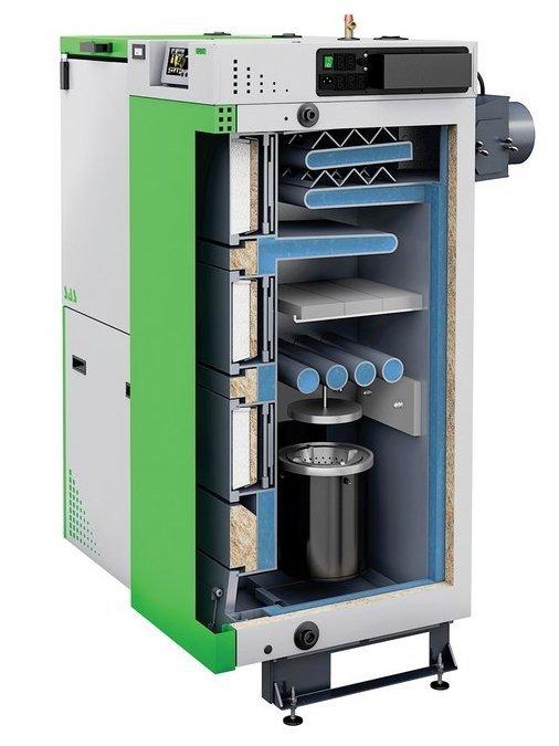 SAS Efekt 17 kW Kocioł na ekogroszek do 190 m2