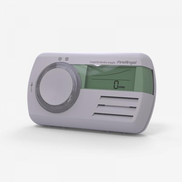 Fireangel CO-9D czujnik tlenku węgla z wyświetlaczem