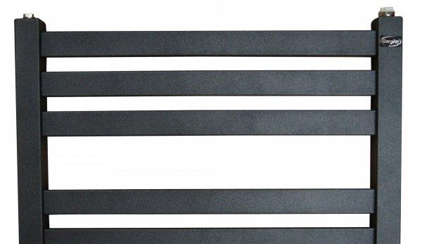 Gorgiel Ebro 535x1225 grzejnik łazienkowy grafit
