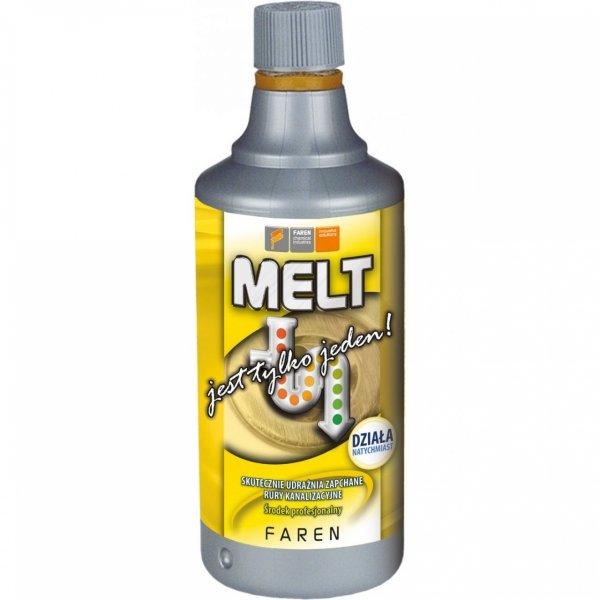 Środek do udrażniania rur Melt 0,75 l przeparat do zatkanych kanalizacji