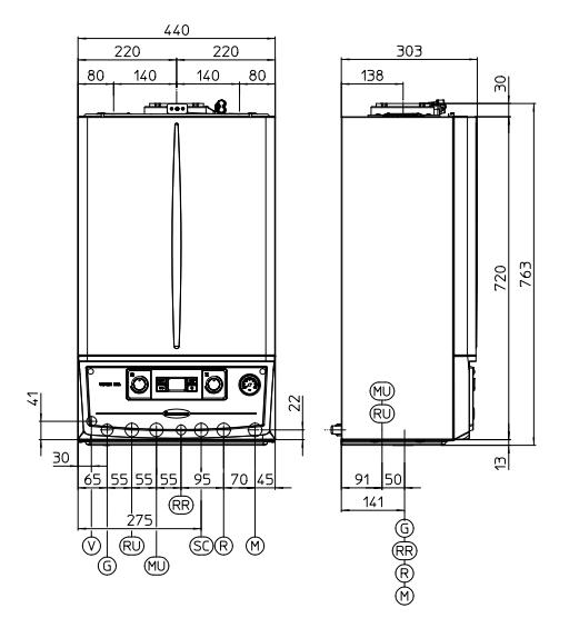 Immergas Victrix Exa 28 1 ERP Kocioł kondensacyjny 2-funkcyjny
