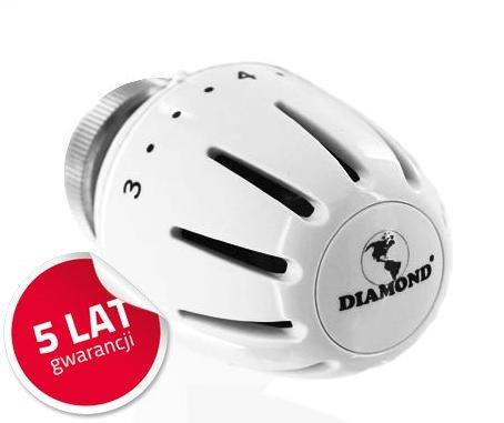 Głowica do grzejnika termostat Diamond 403