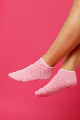 Supa! Sox! Pink Diamonds ladies socks (JP6501)