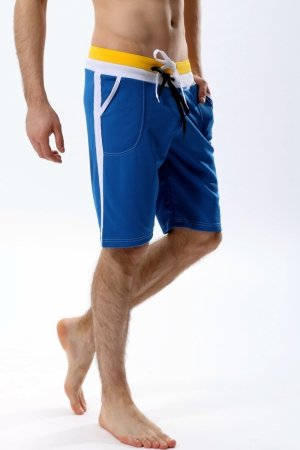 WJ 404 Short Training Pants (Blue)