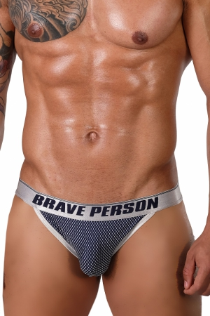 Slipy [TANGA] BRAVE PERSON Ferre Navy