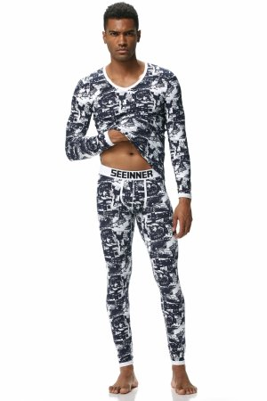 Men`s thermal set SEEINNER Black Streets