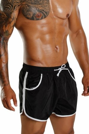 Supa! Swim! Apache Trunks (Black)