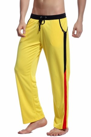 BODY GMW Long Training Pants YELLOW