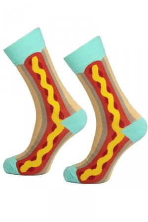 Supa! Sox! Hot-Dog Socks (AM0070)