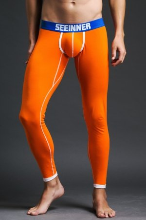 Long Johns SEEINNER Pop Orange