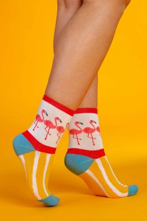 Supa! Sox! Flamingo #2 ladies socks
