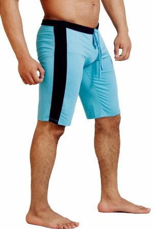 WJ 3008 Short Training Pants (Blue)