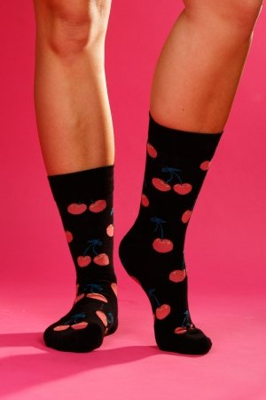 Skarpety Supa! Sox! Black Cherry (AM0011)