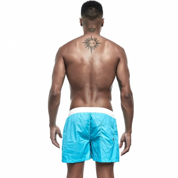Supa! Swim! Acapulco Trunks (Azure)
