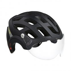 Kask E-Bike Lazer Anverz MIPS Mat Black S +LED