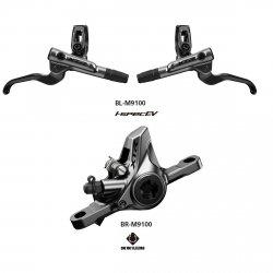 Hamulec Shimano XTR M9100 1700mm metal Bez/Radiatora