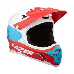 Kask extreme Lazer Phoenix+ Mat White Blue Red L