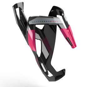 Koszyk Elite Custom Race Plus Czarno - Różowy