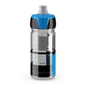 Bidon Elite Crystal Ombra Dymny - Niebieska Grafika 550m