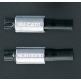 Regulacja naciągu linki przerzutki Shimano SM-CA70