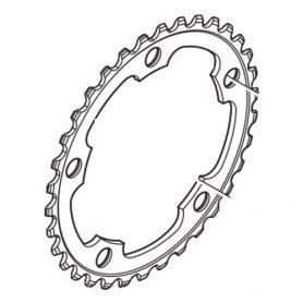 Tarcza mechanizmu korbowego Shimano Tiagra FC-4650 34T (srebrna)