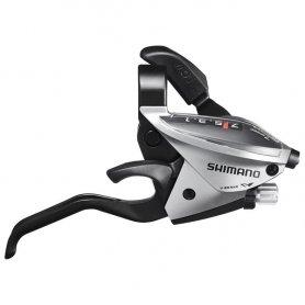 Klamkomanetka Shimano ST-EF510 Srebrna Prawa 7rz.