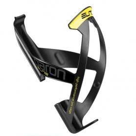 Koszyk Elite PARON RACE czarny - żółta grafika