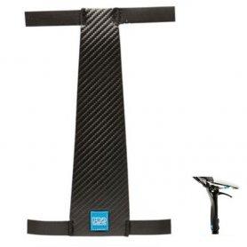 Ochraniacz PRO sztycy opuszczanej /regulowanej M czarny, 125mm, PU