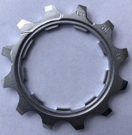 Koronka kasety 10rz. Shimano CS-M771 12T z pierścieniem