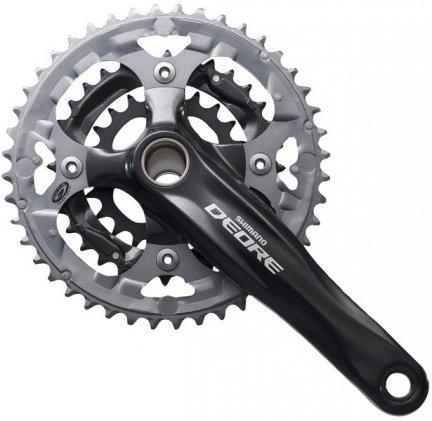 Mechanizm korbowy Shimano Deore FC-M590 3rz 48x36x26T 175mm czarny