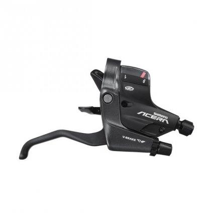 Zestaw klamkomanetek Shimano Acera ST-M390 3x9rz czarny
