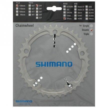 Tarcza mechanizmu korbowego Shimano Tiagra FC-4600 39T (srebrna)