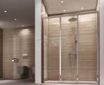 REA - Drzwi prysznicowe przesuwne ALEX 80cm