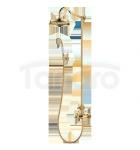 OMNIRES- Zestaw prysznicowy natryskowy z baterią termostatyczną Retro złoty/gold AM5244/6GL ARMANCE
