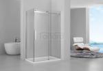 REA - Kabina prysznicowa MARTEN prostokątna z drzwiami przesuwnymi ROZMIARY