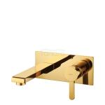 OMNIRES - Bateria umywalkowa podtynkowa złota/gold DARLING DA5015GL
