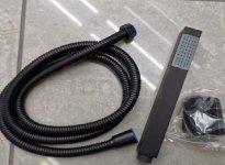 BWTECH- Słuchawka z wężem czarna/black