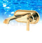 OMNIRES - Bateria umywalkowa podtynkowa złota/gold AM5215GL ARMANCE