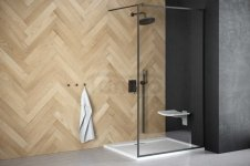 BESCO - Kabina ścianka prysznicowa WALK-IN TOCA 110 cm
