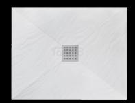 REA - Brodzik prysznicowy prostokątny WHITE ROCK 80 x 100