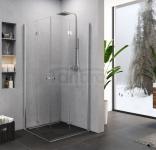 NEW TRENDY Kabina prysznicowa SUPERIA drzwi składane 80x90x195 K-0740