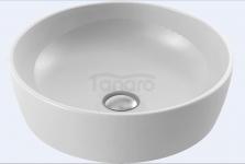 CeraStyle - Umywalka ceramiczna nablatowa ONE OKRĄGŁA bez otworu na baterię