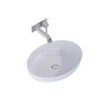 ELITA Umywalka ceramiczna nablatowa RIKA 52x40 STONE MATT 145002