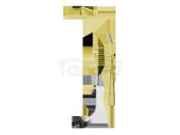 VEDO - Zestaw wannowo-natryskowy podtynkowy II DESSO ORO złoto deszczownica 300mm  VBD4232/30/ZL