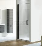 NEW TRENDY - Drzwi wnękowe prysznicowe NEGRA czarne profile Rozmiary 90cm EXK-1193