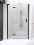 NEW TRENDY - Drzwi wnękowe New Renoma BLACK 80x195  D-0193A  LEWE